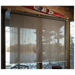 Indoor Outdoor CASTLECREEK Sunscreen Roll Up Blind Window Su