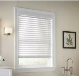 JCP Window Blind Collection  2 inch Faux Wood Blinds Home Wi