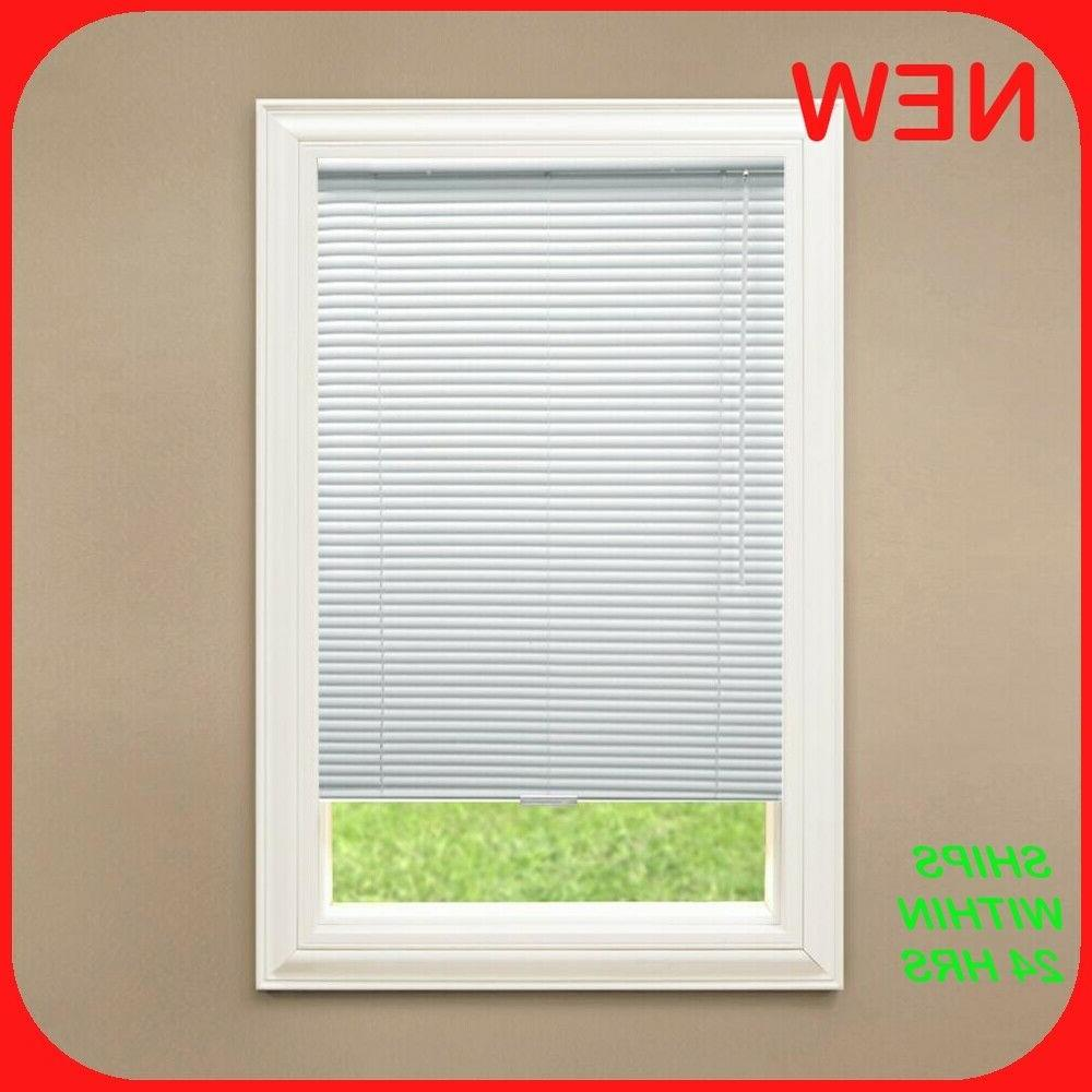 1 in room darkening vinyl mini blind