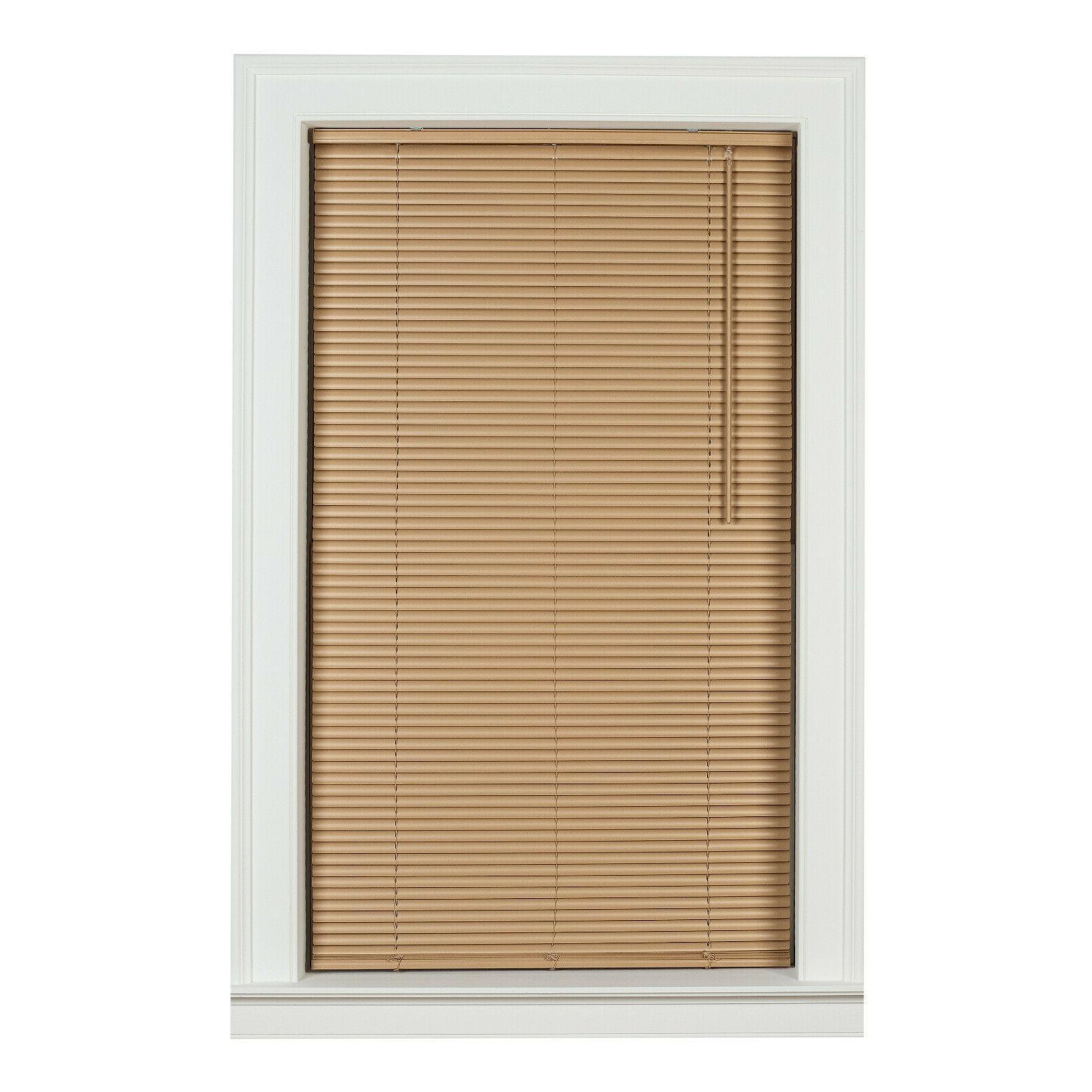 1 inch cordless room darkening vinyl blinds