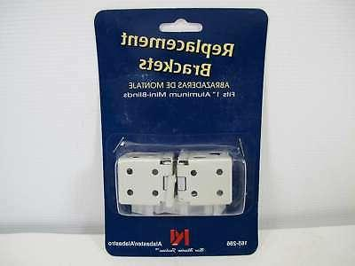 1 window blinds replacement brackets universal frame