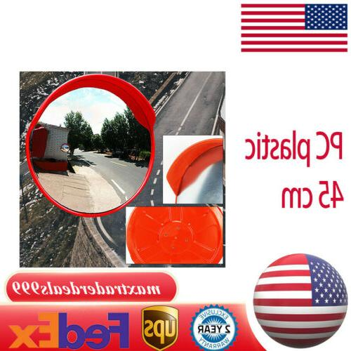 18inch convex wide angle mirror road traffic