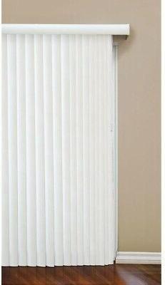 3.5 in. Vertical Blind Faux Wood w/ Reversible Head Rail, 10