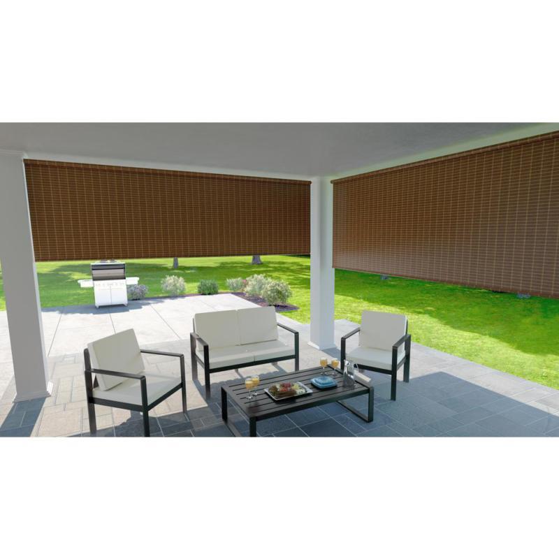 4Ft Blind Exterior Cordless Patio Outdoor Porch
