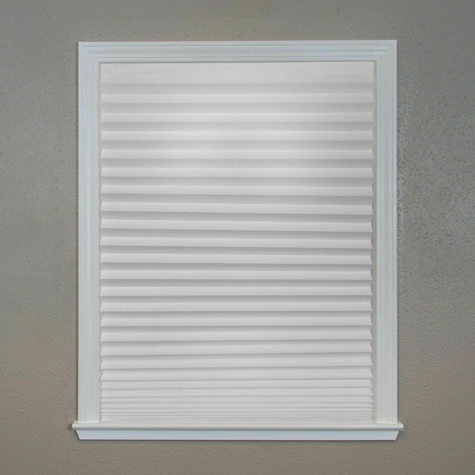 6 Shade X Pleated Paper Filtering Shade Blind