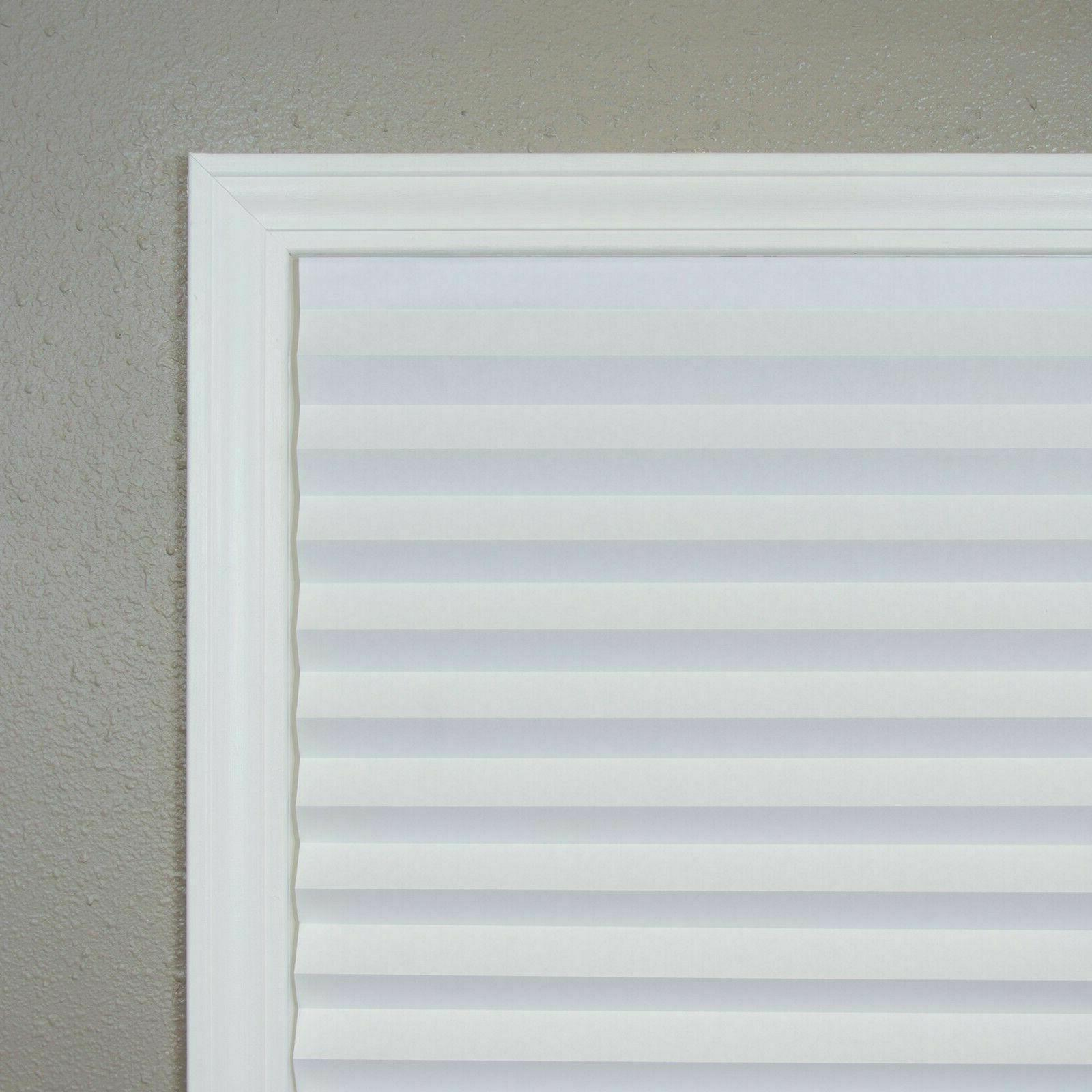 """6 X 72"""" Pleated Paper Filtering Shade Blind"""