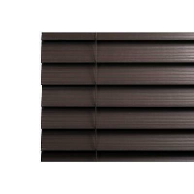 72x64 Wood Room Cordless Darkening Window