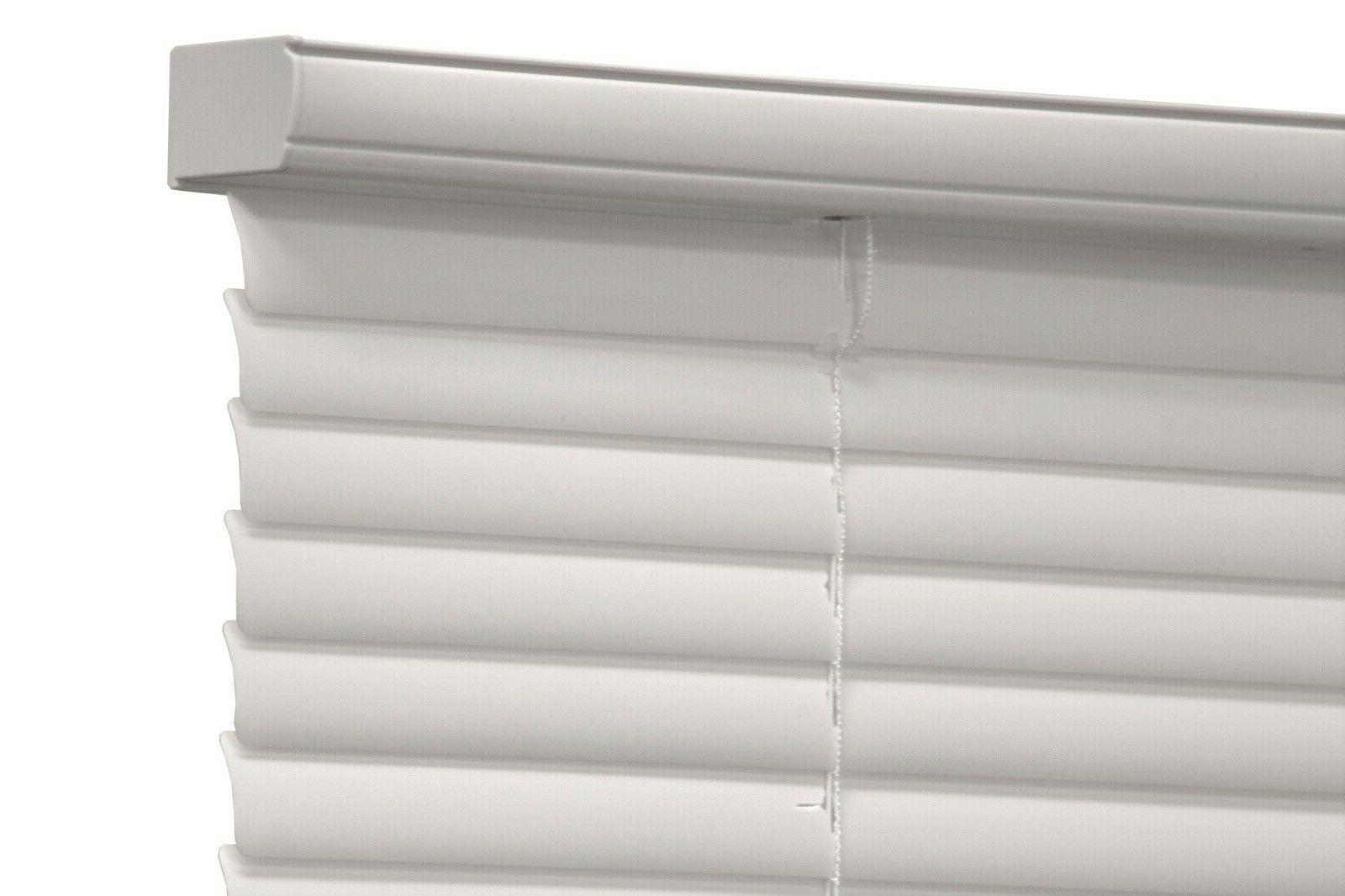 cordless 1 vinyl light filtering blinds white