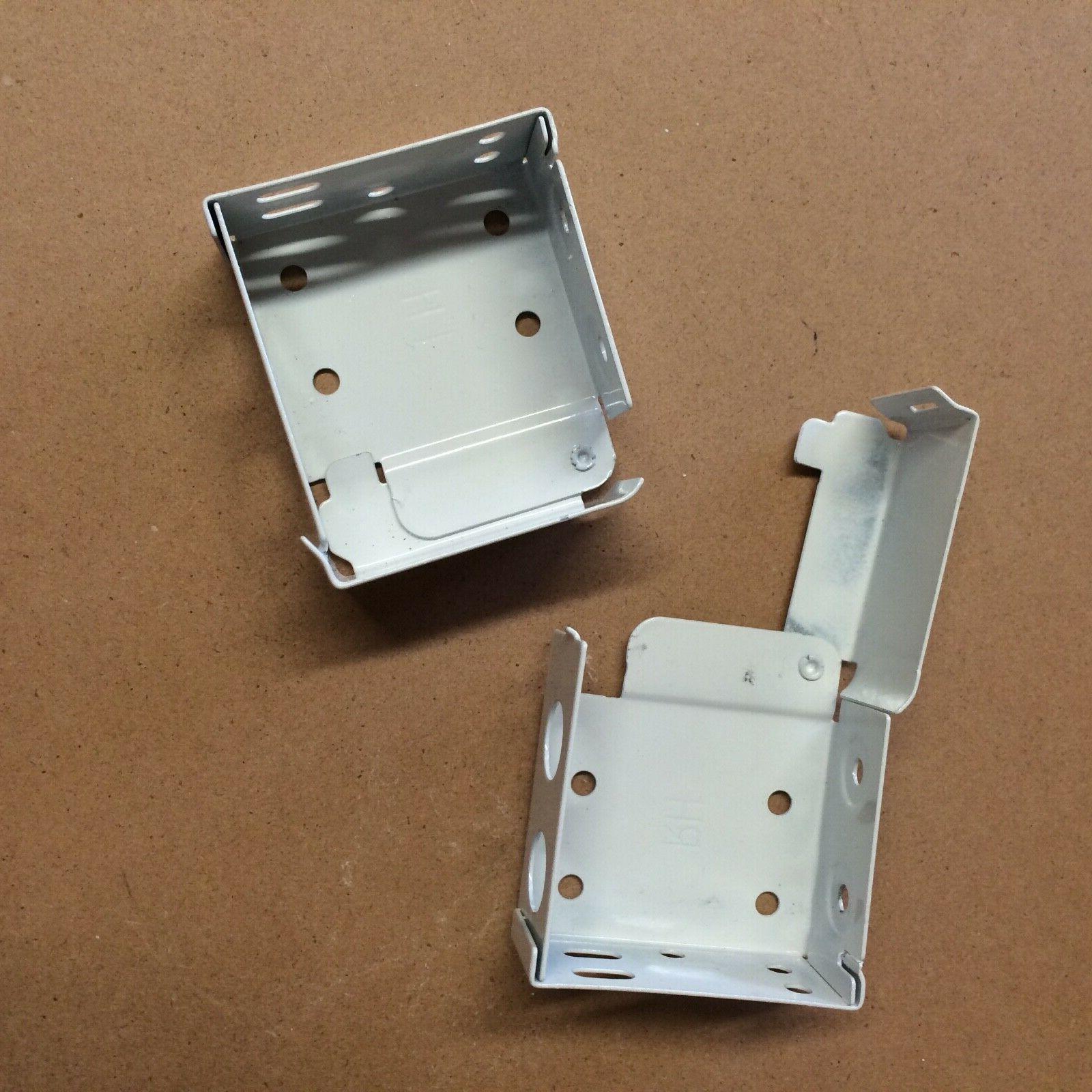 install bracket for 2 horizontal blinds white