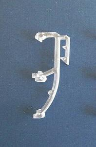 """14 QTY: 1"""" Mini Blind Double Slat Valance Retainer Clips by"""