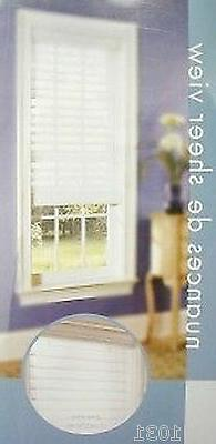 "2 NEW White Sheerview Window Shading Blind 35"" X 75"" lot of"