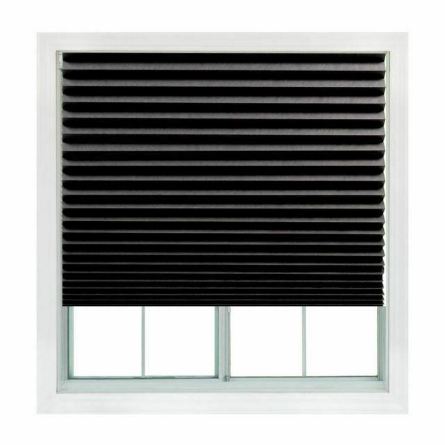 paper pleated shade 36 x 72 window