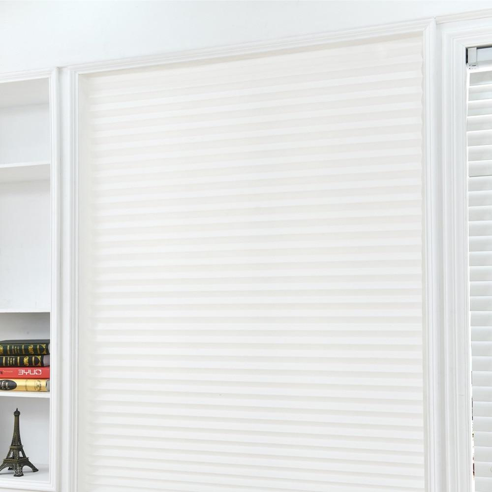 self adhesive pleated font b blinds b