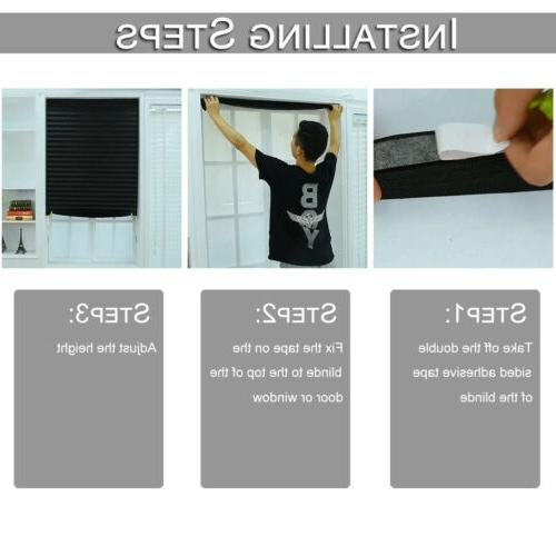 US Pleated Office Kitchen Balcony Curtain