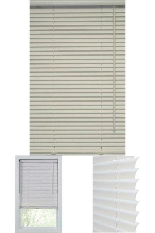 white 1 in cordless vinyl blind 23
