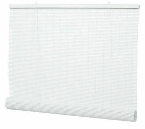 """Lewis Hyman 0320136  36"""" W x 72"""" L  White PVC Roll Up Patio"""