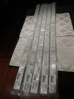 """Lot 5 Ikea Schottis Pleated Shades  35.5""""× 74 3/4"""" - 90×19"""