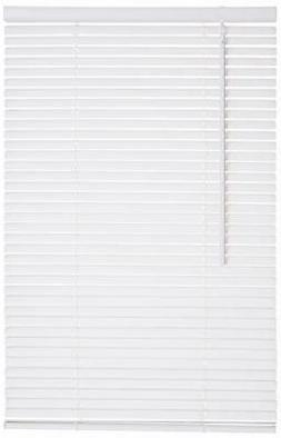 "Lotus & Windoware Cordless 1"" Vinyl Blind 58"" x 48"", White"