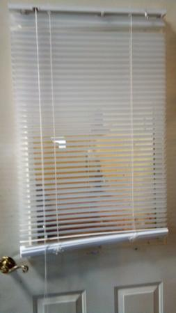 Magnetic Window Blinds 25 X 68  Easy Install Magnetic Blinds