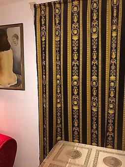 VERSACE MEDUSA PANEL CURTAINS BLINDS BAROQUE Material CORTIN