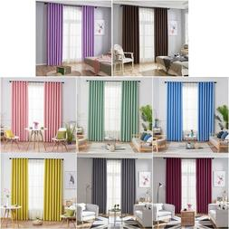Modern Blackout Curtains Window Blinds Finished Drapes for L