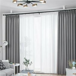 Modern Cloth Blackout Curtains for Window Blinds Blackout Cu