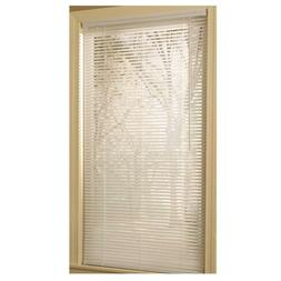 "NEW Project Source 1"" White Vinyl Mini Blinds, Various Sizes"