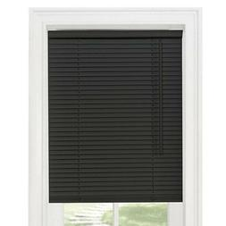 Achim Home Furnishings GII Cordless Mini Blind - Black Mini