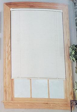 """NEW! HomeTrends 42x64 Window Room Darkening 1"""" Vinyl Mini Bl"""