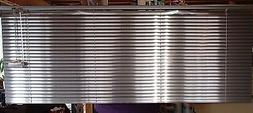 """*NEW* HT WINDOW CORD STOP 1"""" SILVER ALUMINUM BLINDS  62"""" x 2"""