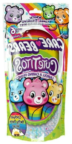 New In Package 1 Care Bears Cutetitos Blind Bag Unroll A Car