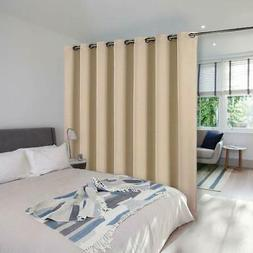 NICETOWN Room Dividers Screen Partitions, Blackout Blinds fo