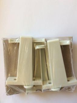 nip Rowley Shade Stop Bracket RW 18 Cream Plastic Window Bli