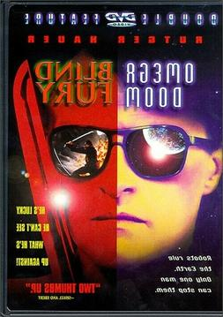 Omega Doom / Blind Fury  New, A Rutger Hauer Double Feature