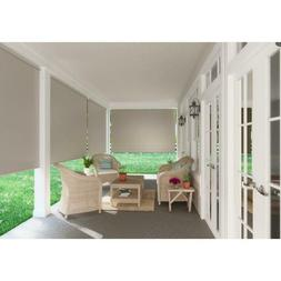 Outdoor Rollup Deck Blinds Patio Exterior Roller Shade - 96