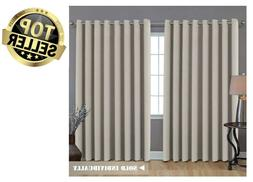 Blackout Thermal Insulated Curtain Panel Drapes Window Door