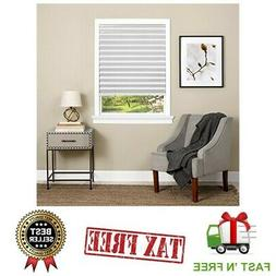 Paper Window Blinds Black Out Pleated 48 x 75 Inch Sun Shade