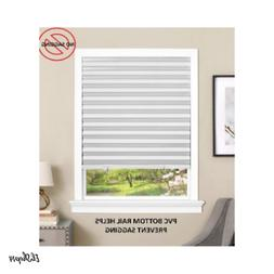 Paper Window Blinds Sun Black Out Pleated 36 X 75 Inch Sun S
