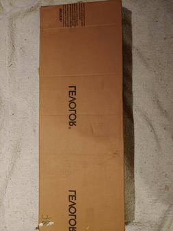 """Levolor Pecan 2"""" Visions Blind 34"""" W X 47"""" L New Box Has Bee"""