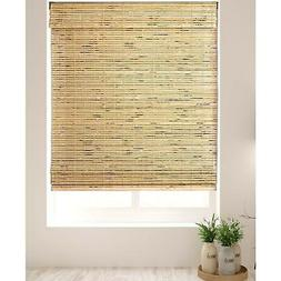 Arlo Blinds Petite Rustique Bamboo Roman Shades with 60 Inch