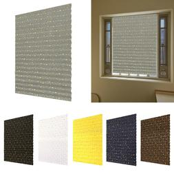 Self Adhesive Pleated Blinds Curtains Home Bathroom Kitchen