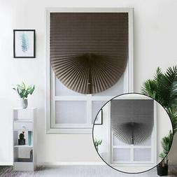 Pleated Blinds Half Shade Windows Curtains For Bathroom Kitc