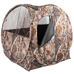 Portable Hunting Blind Waterproof Pop Up Outdoor Use Ground