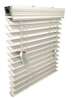 Premium Faux Wood Window Blinds - 7 Blinds Wide