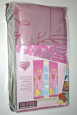 Princess Disney Window Blinds Room Darkening Drapery Panels