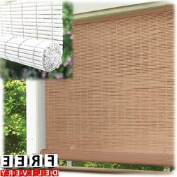 Roll Up Outdoor Sun Shade Blind Radiance Cordless Patio UV W