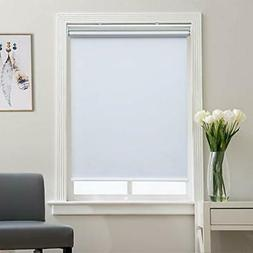 Roller Shade Blackout Shades Window Blinds for Bedroom, Blac