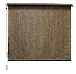 Roller Shade Window Cordless Shades Blind Coolaroo Walnut 48