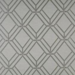 Roman Blinds - Prestigious Textiles - Atrium Chrome - Blacko