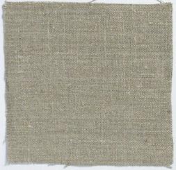 Roman Blinds - Volga Linen - Plain Weave Linen Natural - Bla